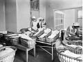 Nurses, babies, nursery. Lothian Health Services Archive, Edinburgh