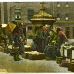 Aberdeen fishwives in the green. St Andrews Special Collections