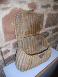 Angling Basket donated to Arran Heritage Museum by Lady Jean Fforde