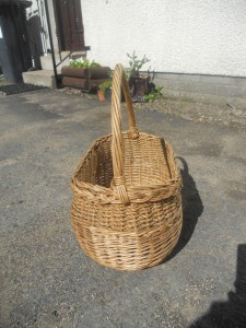 Shopping Basket used in Glasgow in first half of 20th century