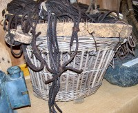 Great Line basket . Uig Historical Society
