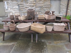 Castlehill Heritage Centre basket collection
