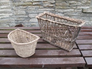 Bicycle Baskets, Castlehill Heritage Centre