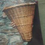 Replica of Salt Basket made by Alisdair Davidson for Preston Grange Museum