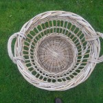 Quarter Cran size basket by Henry Mellor owned by Chrissie White, Isle of Arran
