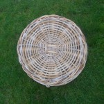 Base of Quarter Cran size basket by Henry Mellor owned by Chrissie White, Isle of Arran