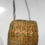 Replica by Alisdair Davidson of the oldest basket in Scotland