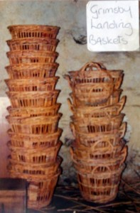 Landing Baskets made by Alisdair Davidson and Henry Mellor