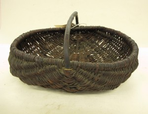 Traveller basket at the Highland Folk Museum