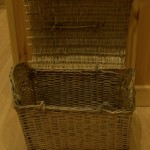Bonnet basket. Uig Historical Society Museum