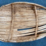 Small Line 'Basket made ot wooden strips, Ness, Lewis'